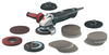 Metabo Amoladora angular electrónica de 1450 vatios WE 14-125 Inox Plus Set
