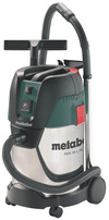 Metabo Aspirador universal de 1250 vatios ASA 30 L PC Inox con limpieza manual del filtro y conexión automática