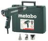 Metabo Pistola de aire caliente de 2300 vatios HE 23-650 Control