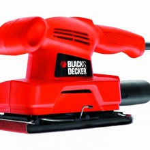 Lijadora orbital Black+Decker (135 W, 230 V)